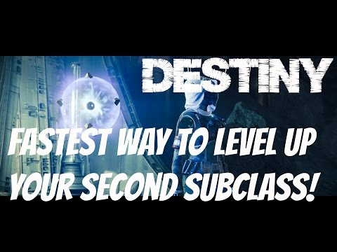#Destiny How to level up your second subclass fast. Beast Mars Bastion Control Game Play Commentary