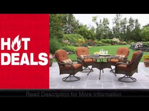 Better Homes And Gardens Azalea Ridge 5 Piece Patio Dining Set 4