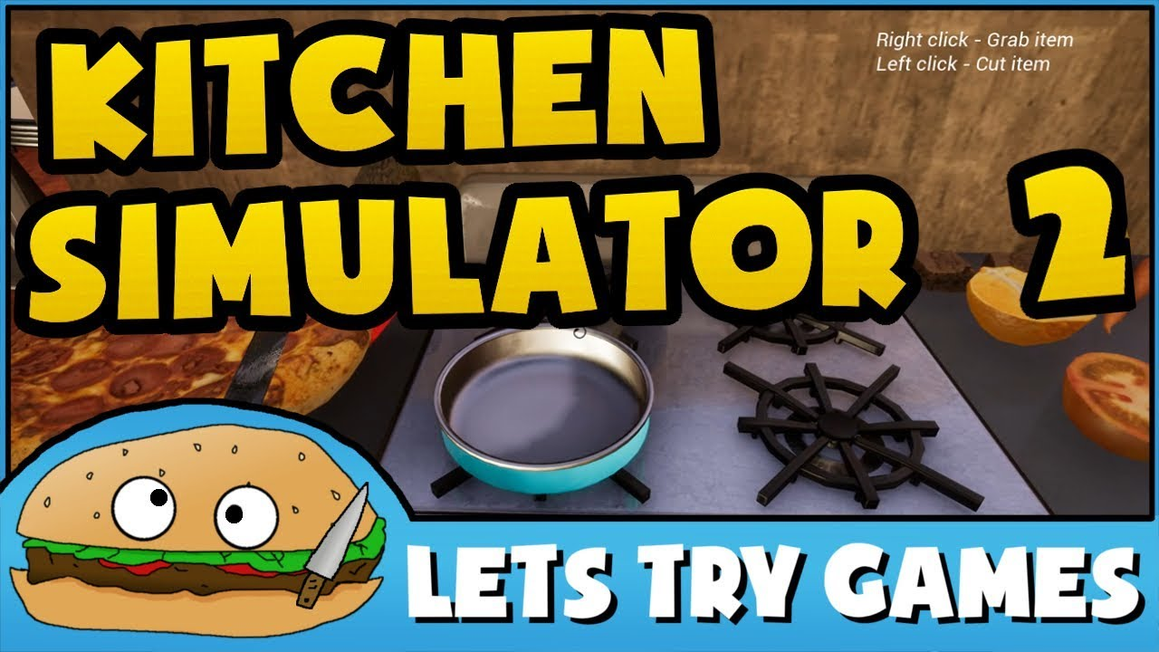 Merveilleux KITCHEN SIMULATOR 2 🎮 This Kitchen Sucks 🍔 Lets Try Games 🍔