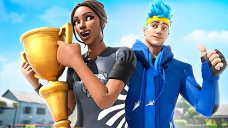 The First Ninja Battles Fortnite Tournament Was INSANE (Top 10 Finish) | Bugha