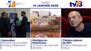 7/8 Le Journal. Edition du mardi 14 janvier 2020