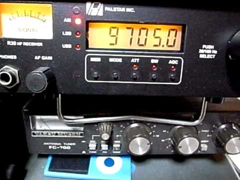 9705kHz Voix du Sahel, Niamey, Niger ORTN & their national anthem