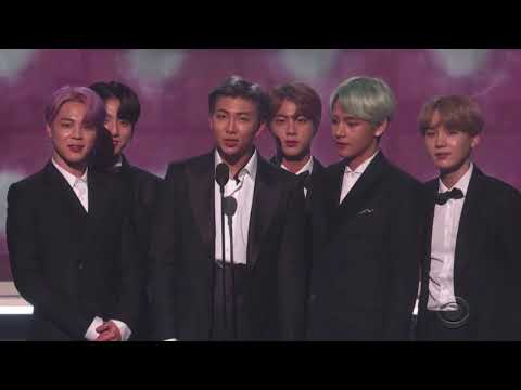 BTS Present Best R&B Album + Reactions at the 2019 GRAMMYs  | All Moments