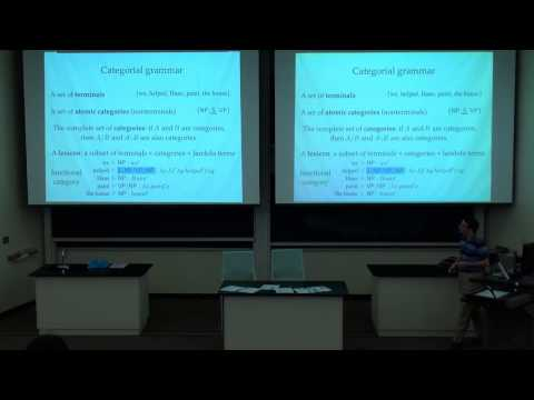 Dr. Adam Lopez: A Formal Model of Semantics-Preserving Translation