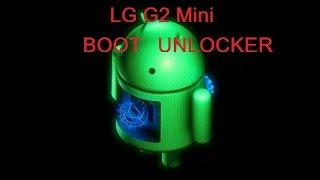Lg g2 mini bootloader unlock d618