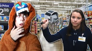 I Got CHASED By A Walmart Worker..