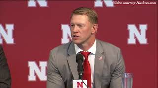 All the things Scott Frost said Sunday that made grown Husker fans weep with joy