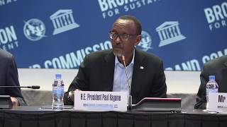 President Kagame Keynote Address at Broadband Commission for Sustainable Development