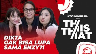 THIS OR THAT: ENZY SALTING DIDATENGIN DIKTA!!! HESTI JADI SAKSI LAMARAN?!