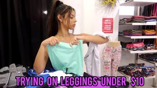 seeing how leggings less than $10 fit