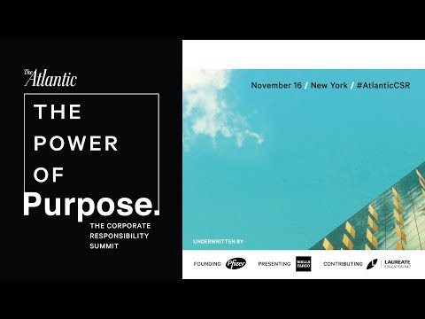 Welcome to The Power of Purpose: The Corporate Responsibility Summit