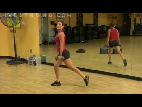 Forward or Backward Lunges (right leg)