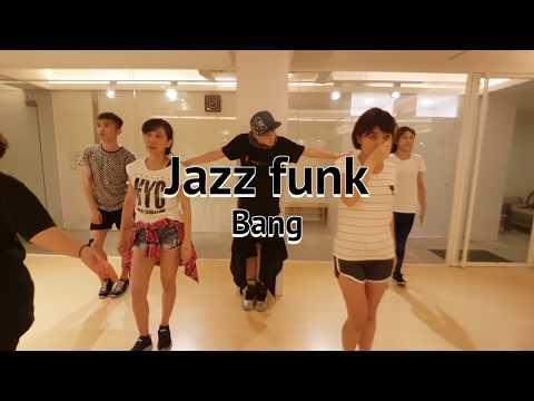 20170911 JAZZ FUNK Choreographer by Bang/Jimmy dance Studio