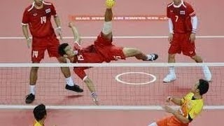 [THA-KOR] 30th King's Cup Sepaktakraw Men's Team A Set1
