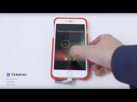 This iPhone case allows users to run Android or iOS
