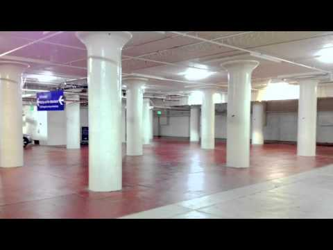 Parking Garage Scrubbing Pressure Steam Cleaning