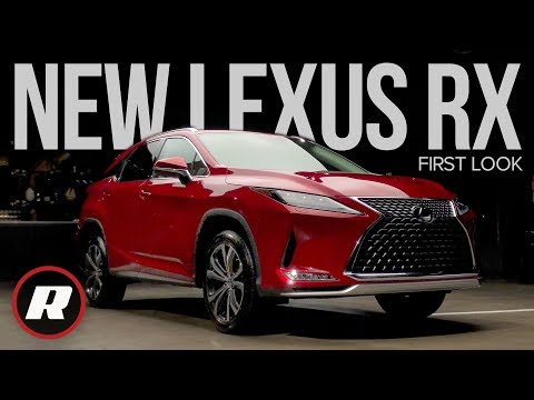 First Look: 2020 Lexus RX Ups Its Tech Game For A New Decade