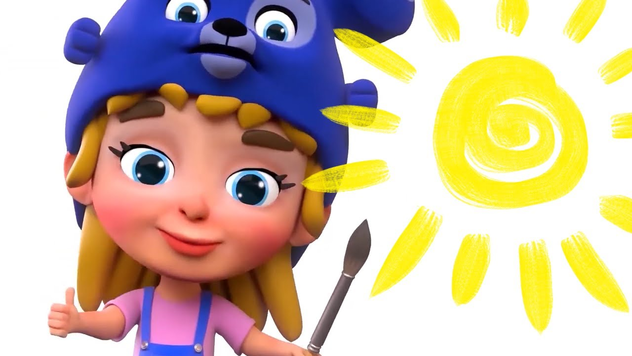 Do you like bananas in musical cartoons with Nursery Rhymes & Simple Songs for kids by Funny Hats
