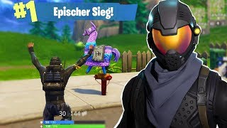 WIN WITH NEW HALO SKIN! *GEHEIM* (Fortnite Battle Royale English)