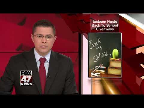 Jackson hosts back to school giveaways