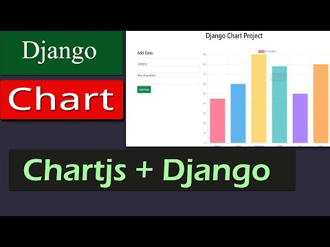 Django + Chart + Database Integration || Add Data Using Forms And Get Dynamic Chart  Easily!