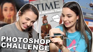 Photoshop Challenge - Merrell Twins