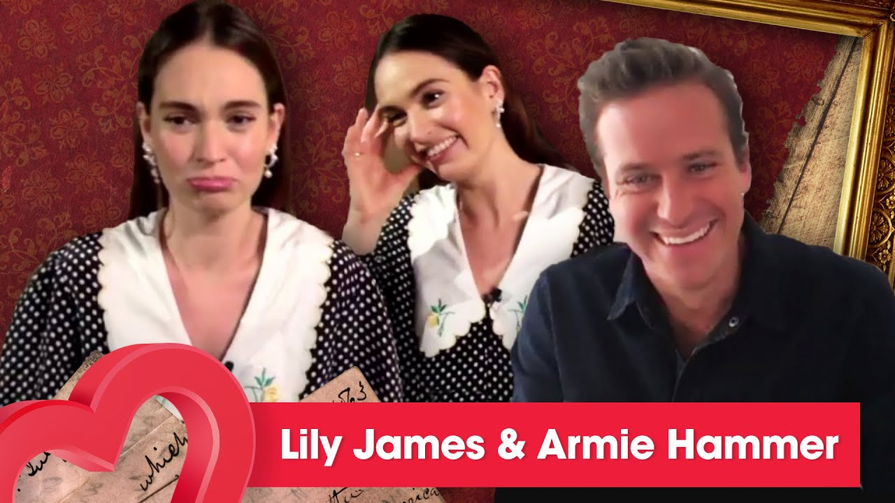 Lily James says she cried and almost threw a tantrum on set! | Interview | Heart