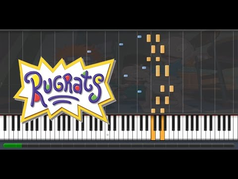 Rugrats Synthesia Piano Cover