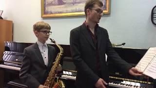 Открытый урок по саксофону - ДМШ № 82