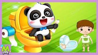 приучение к туалету.Малыш и Гигиена.Как Правильно Пользоваться Туалетом.Игровой Мульт