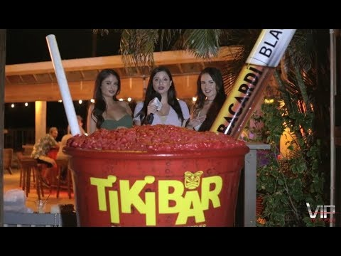 Holiday Isle Tiki Bar - Florida Keys - Postcard Inn Beach Resort & Marina
