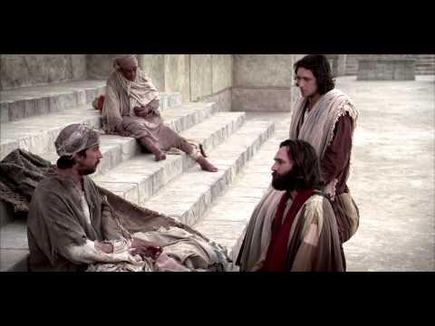 Pedro y Juan sanan a un cojo de nacimiento