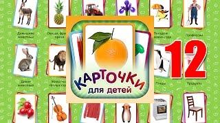 Учебные Карточки (Домана) для детей №12 - Деревья