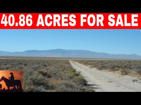 NEVADA OWNER FINANCED LAND 40 ACRES FOR SALE