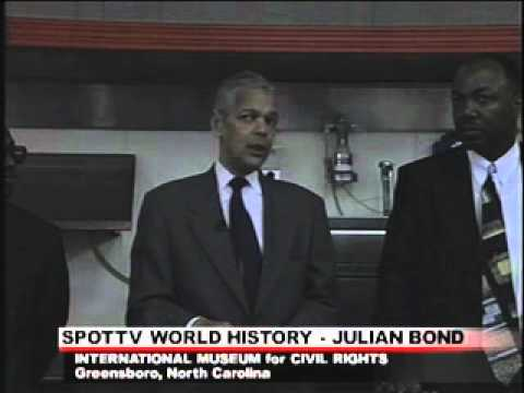 JULIAN BOND on SPOT TV