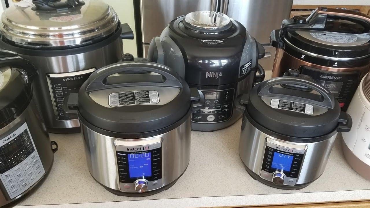 2018 Cookingwithdoug Instant Pot Ninja Foodi Gowise Cuckoo Cosori