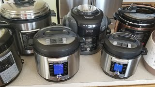 2018 CookingWithDoug Instant Pot Ninja Foodi Gowise Cuckoo Cosori Pressure Cooker Collection lol