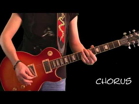 Slash Lesson - You Could Be Mine (Slow Lesson)