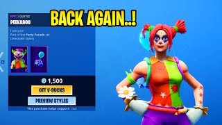 ITEM SHOP PEEKABOO, NITE NITE, MAVEN SKINS RETURN! Icicle Pickaxe im Shop! Fortnite März 25, 2019
