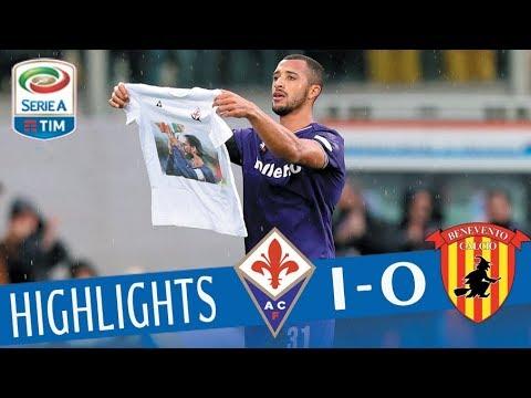 Fiorentina - Benevento 1-0 - Highlights - Giornata 28 - Serie A TIM 2017/18