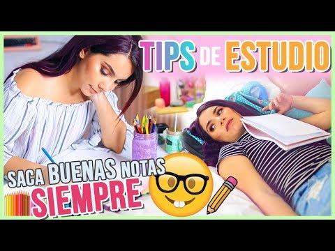 TIPS DE ESTUDIO QUE SÍ FUNCIONAN ♥ Jimena Aguilar