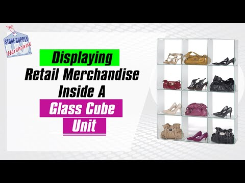 How to Merchandise a Glass Cube Display