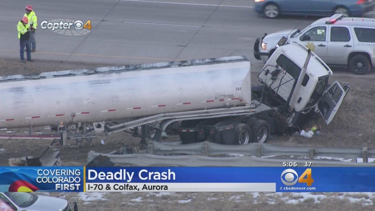 Wrong Way Driver Causes Crash On I-70