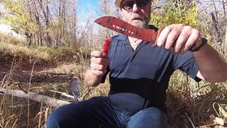 How to Sharpen a Double Curved Knife Blade