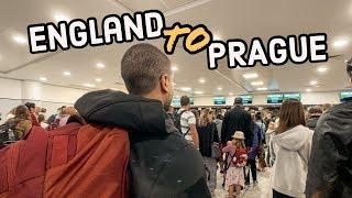 Gambar cover ENGLAND TO PRAGUE | Ryanair experience + Airbnb Tour