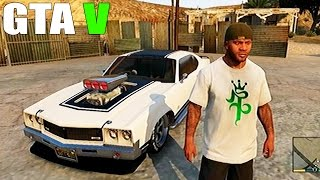 grand theft auto v customizing one of the best car in the game and racing part 01 gtav