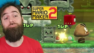 WHAT IS THIS?? This is the Worst, Hottest, Greatest Content EVER. [SUPER MARIO MAKER 2]