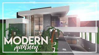 bloxburg mansion modern welcome roblox 328k build hillside houses mansions mini bedroom 190k speed 130k plans