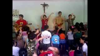 lagu rohani anak sekolah minggu - king kong sambung anak monyet