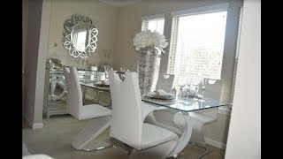 *NEW* MUST SEE~SUPER GLAM Dinning Room Tour|~Celebrity Inspired~|HomeDecor|HomeInterior